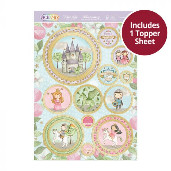 Pick 'N' Mix Topper Sheet - Once Upon a Time