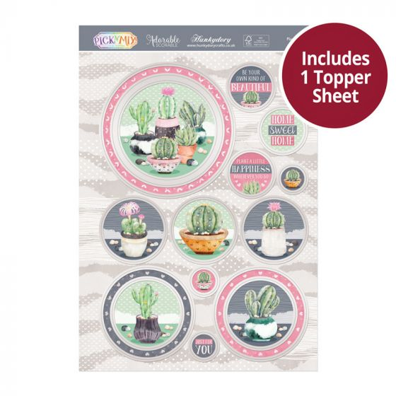 Pick 'N' Mix Topper Sheet - Plant a Little Happiness