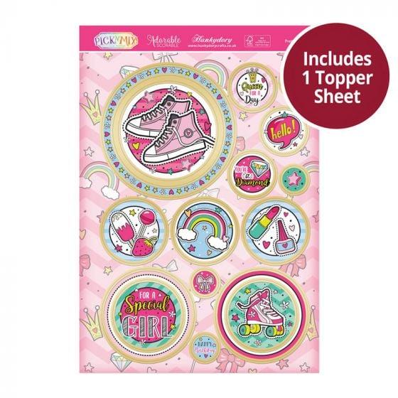 Pick 'N' Mix Topper Sheet - Pretty Patches