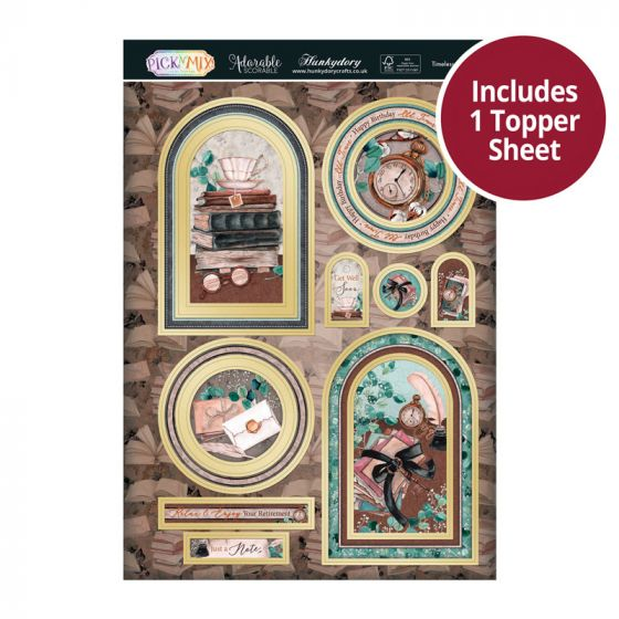 Pick 'N' Mix Topper Sheet - Timeless Moments