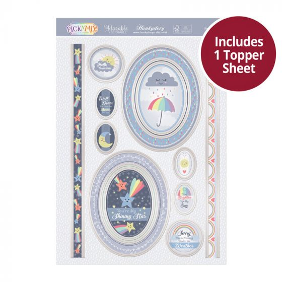 Pick 'N' Mix Topper Sheet - Under the Weather