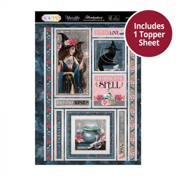 Pick 'N' Mix Topper Sheet - Witching Hour