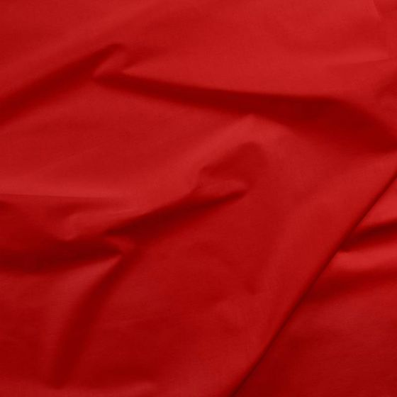 Solids Cotton Fabric - Real Red (1 mtr)