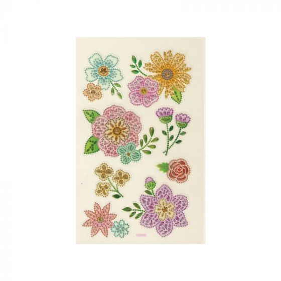 Signature Crystal Stickers - Flowers