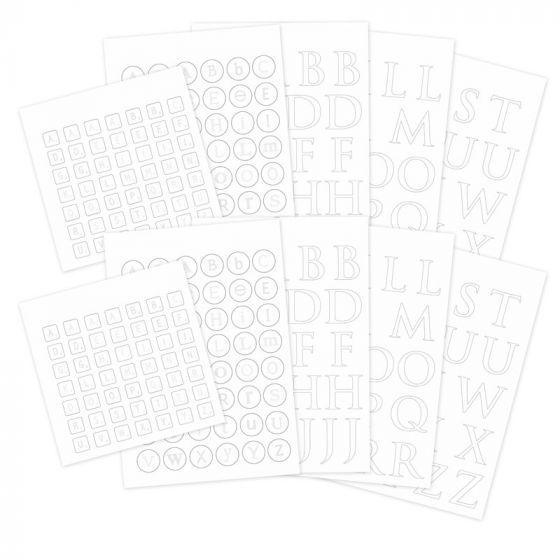 Ink Me! Die-Cut Letters