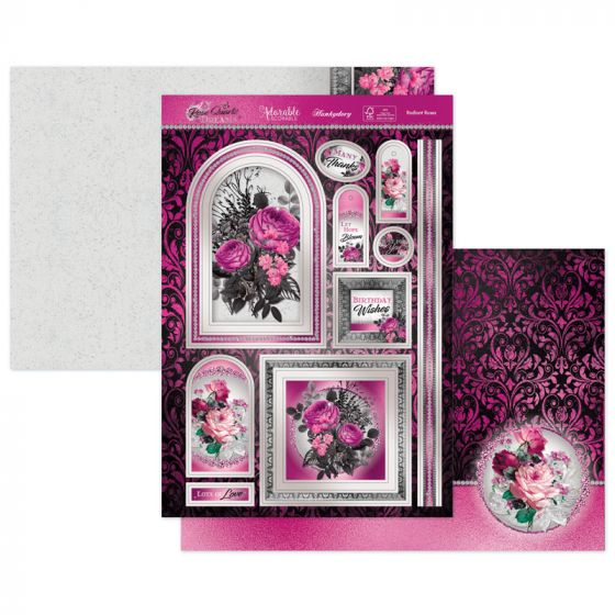 Radiant Roses Luxury Topper Set