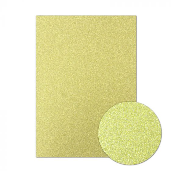 Diamond Sparkles Shimmer Card - Gold