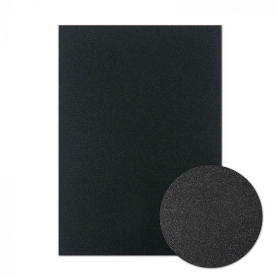 Diamond Sparkles Shimmer Card - Midnight Black