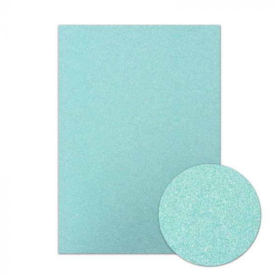 Diamond Sparkles Shimmer Card - Sky Blue
