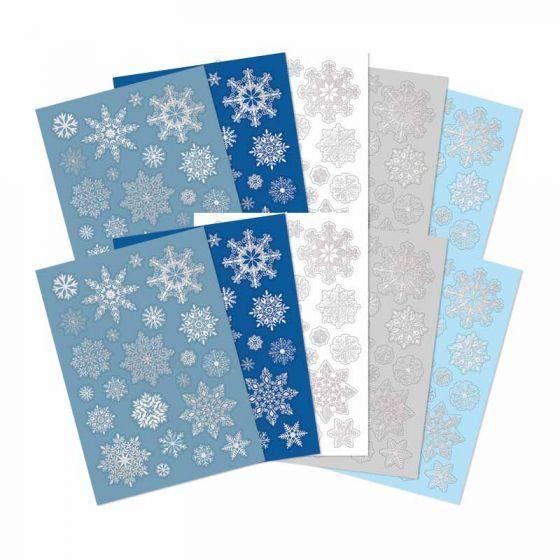 Let it Snow Snowflake Die-Cuts