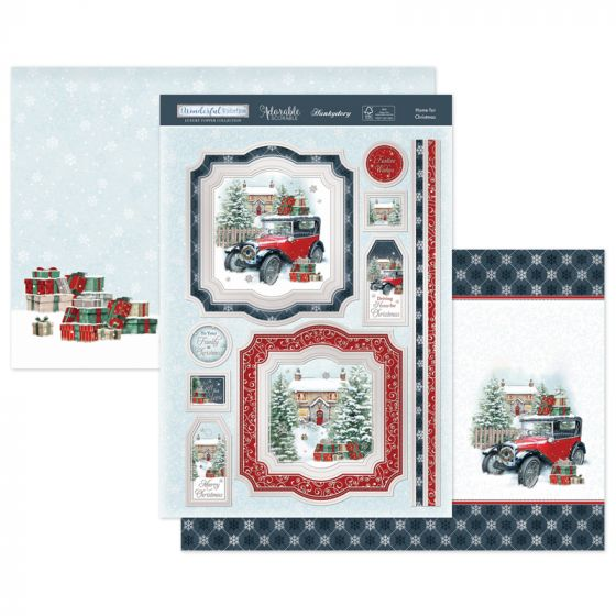 Home for Christmas Luxury Topper Set