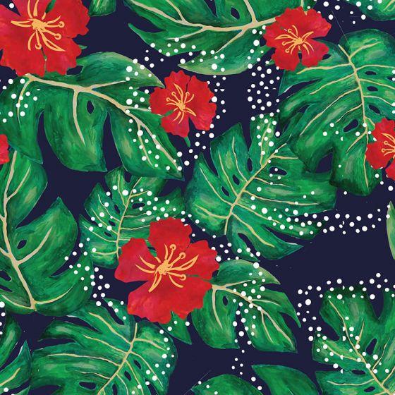 Sarah Payne - Birds of Paradise - Hibiscus Flowers