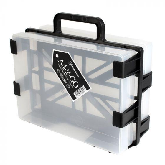 A4-2-Go Carrier & 1 x A4 Box & 1 x Crafty Tool Box