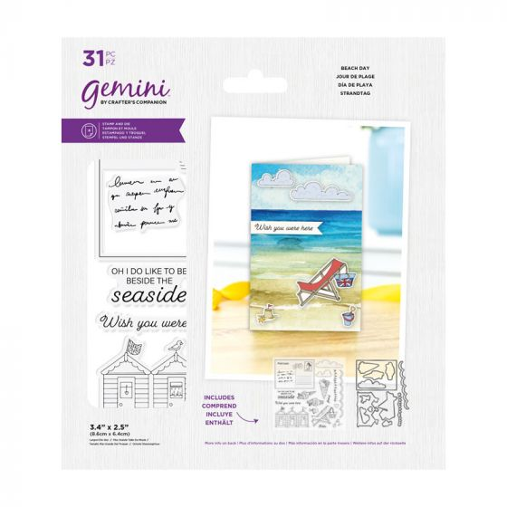 Gemini - Stamp & Die - Best Of British Beach Day