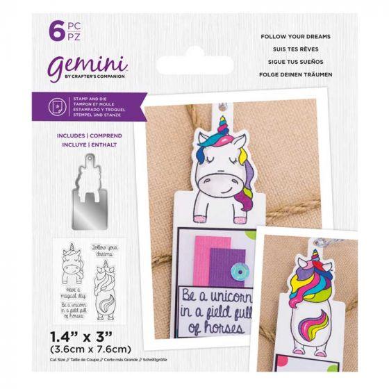 Gemini - Stamp & Die - Follow Your Dreams