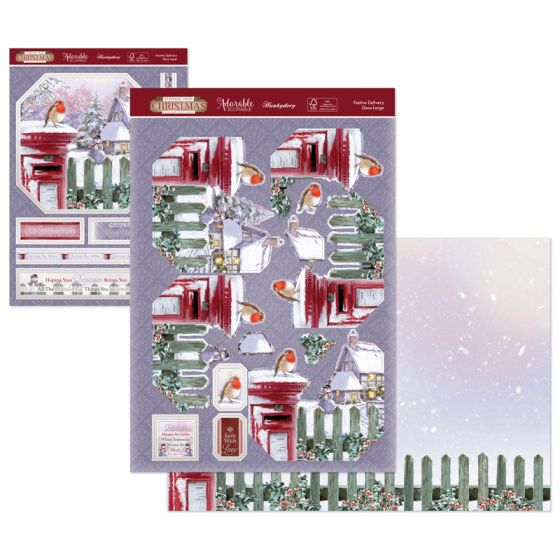 Stepping Into Christmas Deco-Large - Festive Delivery