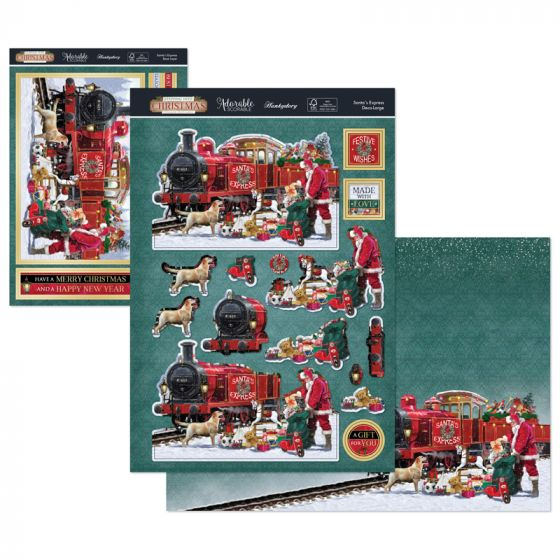 Stepping Into Christmas Deco-Large - Santa's Express