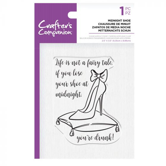 CC - Clear Acrylic Stamps - Midnight Shoe