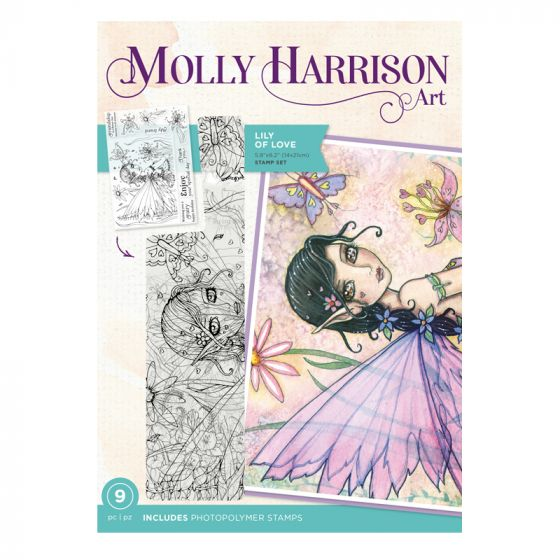 Molly Harrison Photopolymer Stamp - Lily of Love