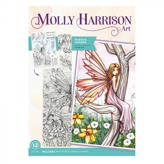 Molly Harrison Photopolymer Stamp - Marta