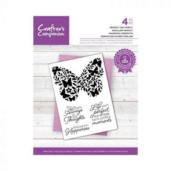 CC - Photopolymer Stamp - Perfect Butterfly