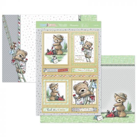 Teddy Loves... Odd Jobs Luxury Topper Set