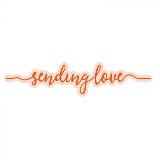 Sending Love Strip Die