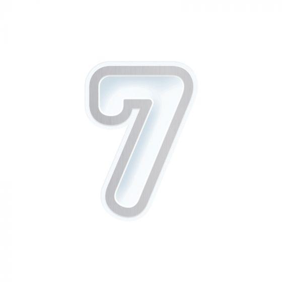 Number 7 Die & Shaker Set