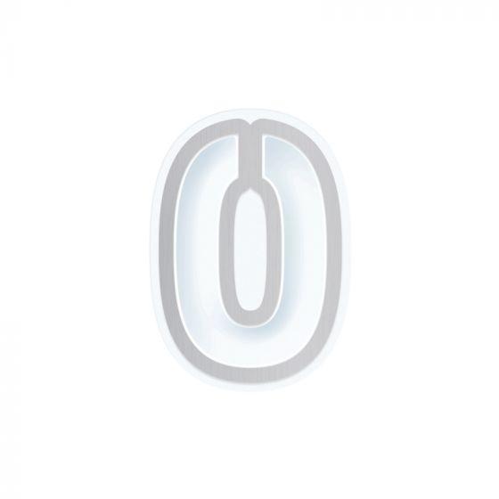 Number 0 Die & Shaker Set