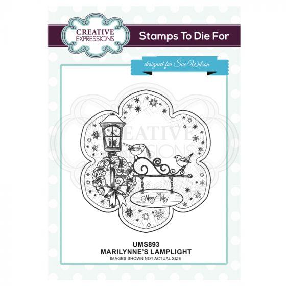 Marilynne's Lamplight Pre Cut Stamp