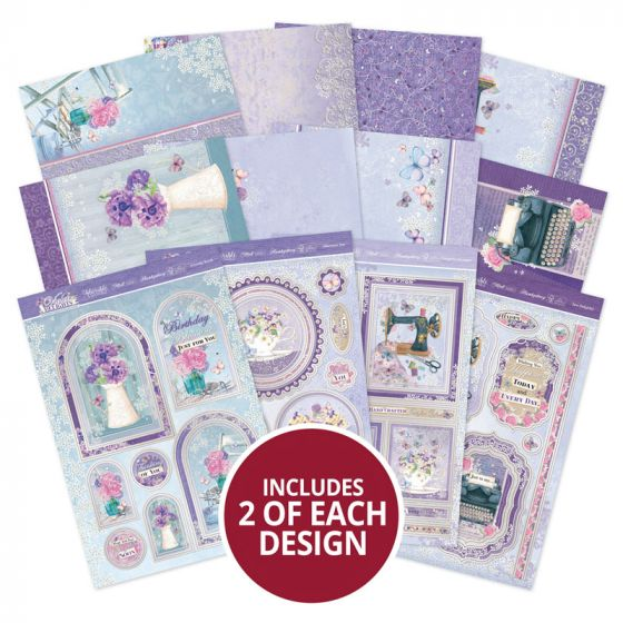 Violet Delights Luxury Topper Collection
