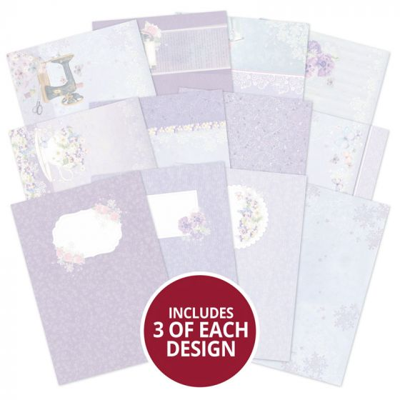Violet Delights Luxury Card Inserts Collection