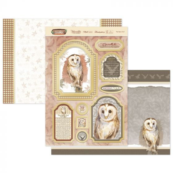 The Bard Owl Luxury Topper Set