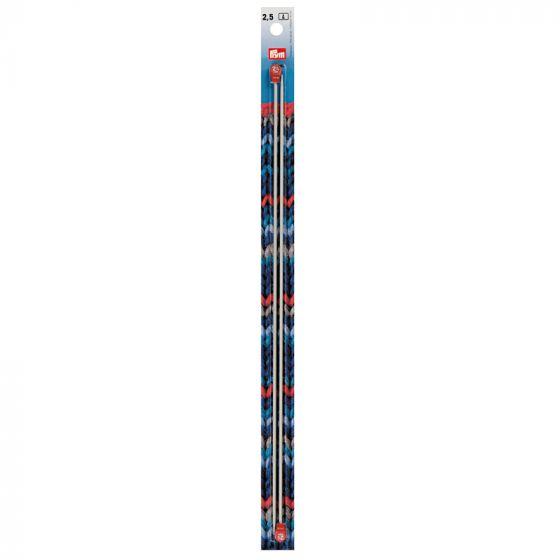 Prym Aluminium Knitting Needles - 35cm x 2.5mm