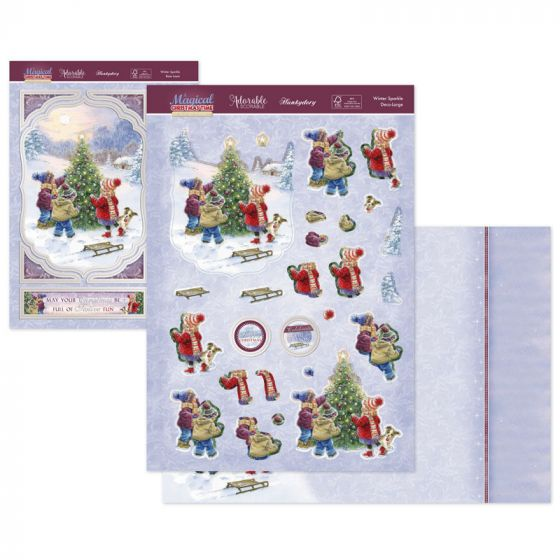 A Magical Christmas Time Deco-Large - Winter Sparkle