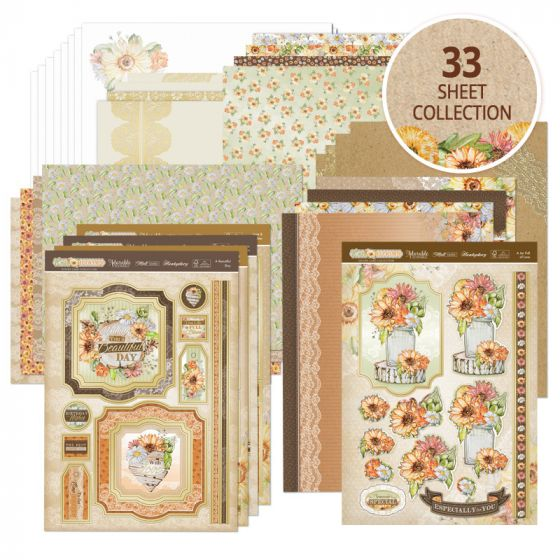 Rustic Blooms Card Collection