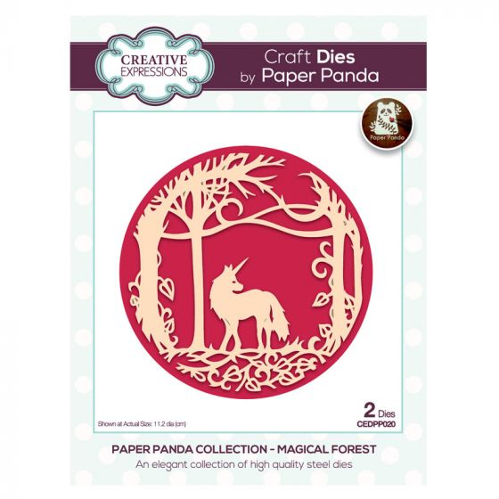 Creative Expressions Paper Panda Magical Forest Craft Die