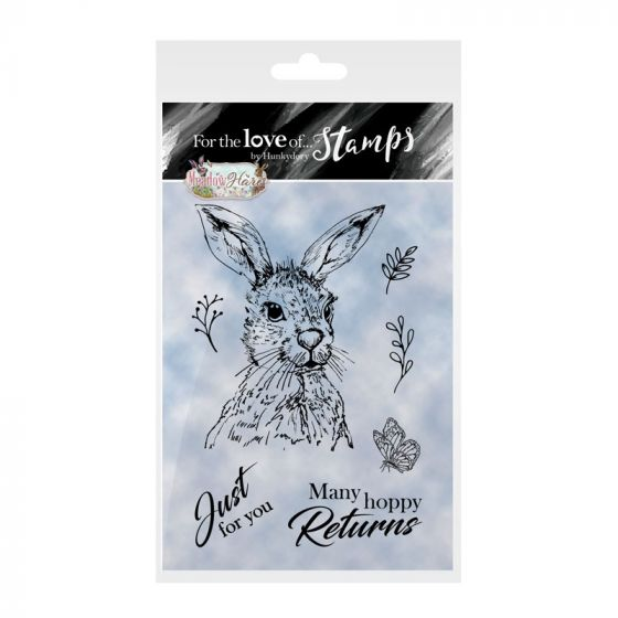 For the Love of Stamps - Meadow Hare
