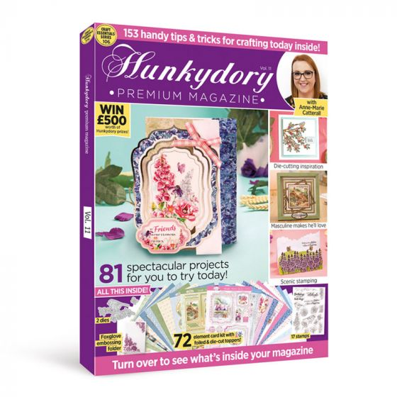 Hunkydory Design Collection Box Magazine Issue 11