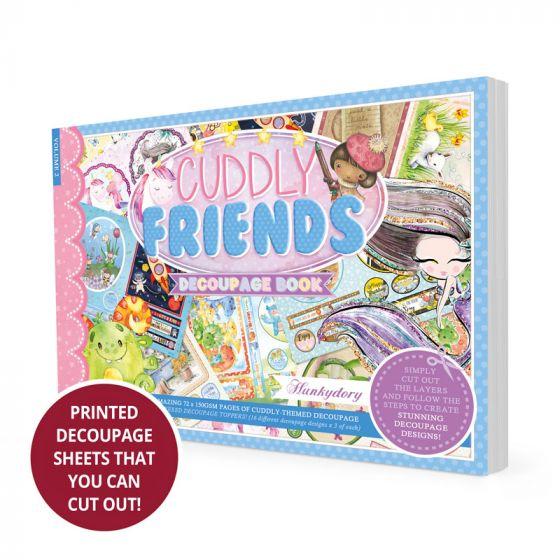 Cuddly Friends Decoupage Book