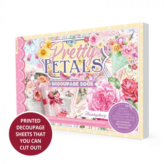 Pretty Petals Decoupage Book