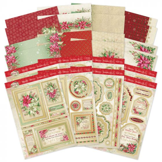 Forever Florals - Poinsettia Luxury Topper Collection