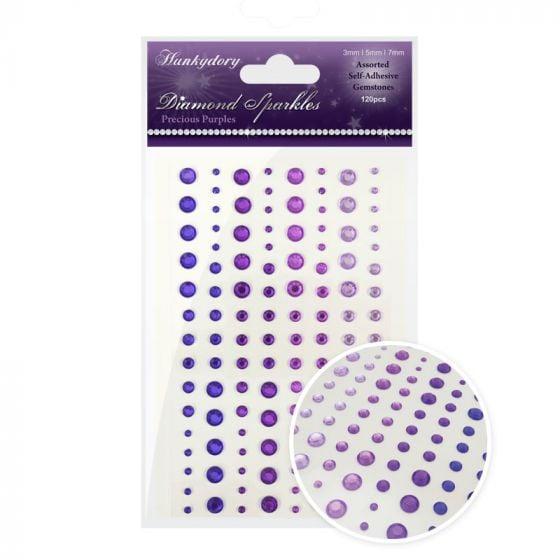 Diamond Sparkles Gemstones Precious Purples