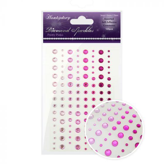 Diamond Sparkles Gemstones Pretty Pinks