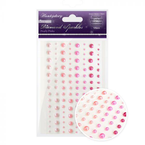 Diamond Sparkles Gemstones - Precious Pearls - Pearly Pinks