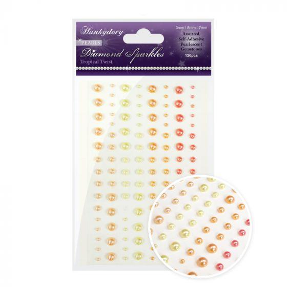 Diamond Sparkles Gemstones - Precious Pearls - Tropical Twist