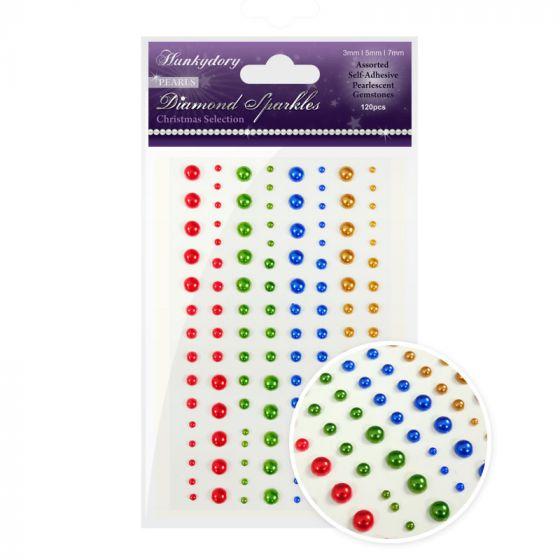 Diamond Sparkles Gemstones - Precious Pearls - Christmas Selection