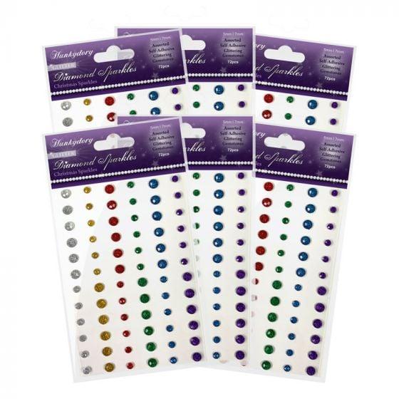 Diamond Sparkles Glitter Gemstones - Christmas Sparkles Bundle