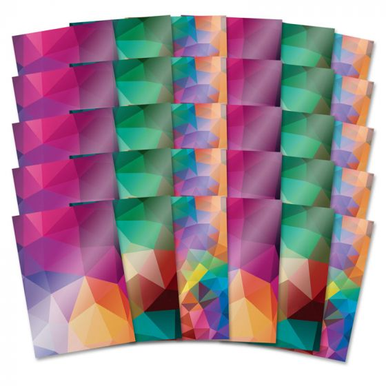 Mirri Card Specials - Geometric Shimmer
