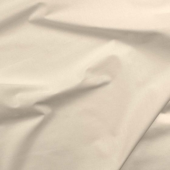 Solids Cotton Fabric - Oyster (1mtr)